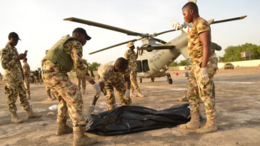 Helicpoter Blade Chops Off Head Of Air Chief Marshal In Borno State 8