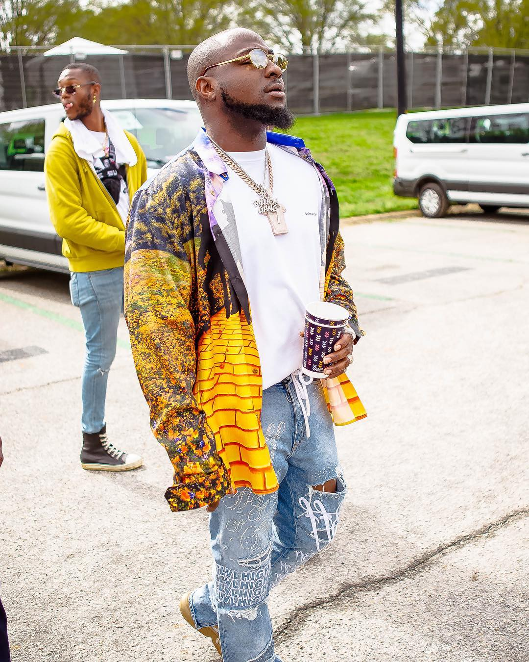 Watch Davido's Energetic Performance At J.Cole's Dreamville Festival In US [Photos/Video] 1