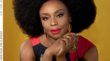 Chimamanda Adichie To Be Honoured As 'One Of World's Most Powerful Voices In Fiction' 1