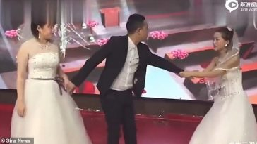 Groom's Ex-lover Wears Gown, Storms His Wedding To Cry And Beg Him To Take Her Back [Photos/Video] 8
