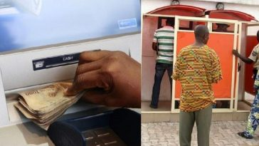How Man Was Caught Withdrawing Money Without 'ATM Card' In Ibadan 7