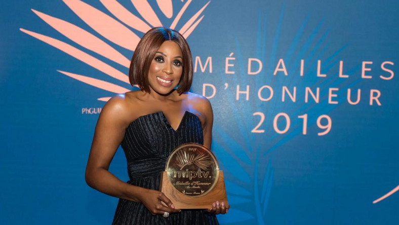 Mo Abudu Becomes First African To Win Médailles d'Honneur [Photos] 1