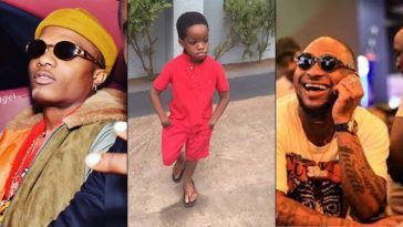 Wizkid's First Son, Boluwatife Names Davido As His Favourite Nigerian Artists [Video] 6