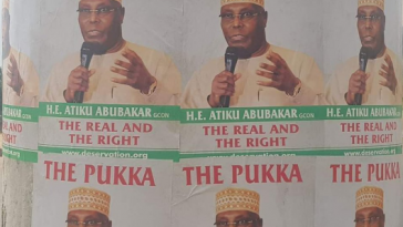 Atiku Disowns Posters Of Him With 'Strange' Inscriptions Circulating In Abuja 8