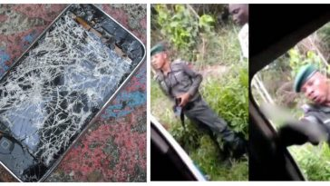 Policeman Who Destroyed DELSU Student's Phone, Saying It's Too Expensive For His Level, Has Been Arrested 2