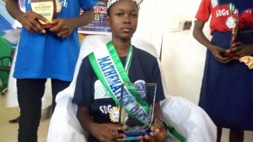 13-Year-Old Tochukwu Ndukwe From Enugu, Wins SDGs Maths Competition 1
