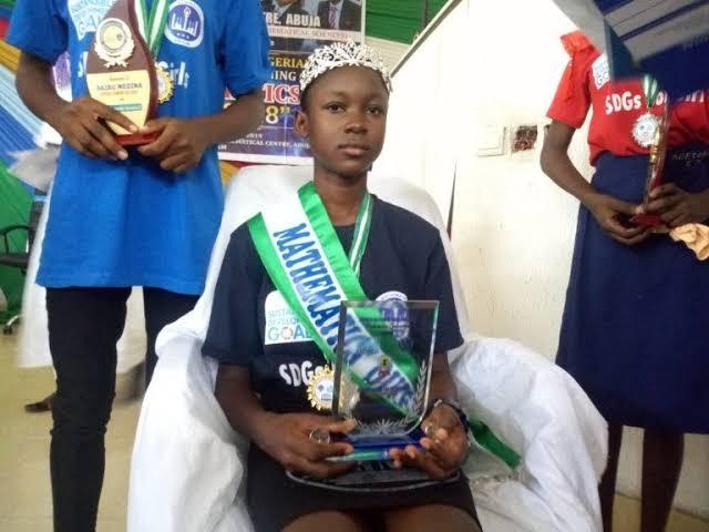 13-Year-Old Tochukwu Ndukwe From Enugu, Wins SDGs Maths Competition 1