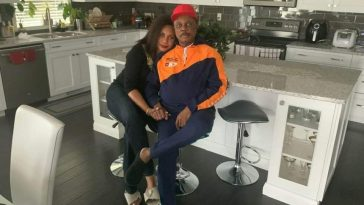Governor Obiano Spotted Chilling With His Wife In The US, Speaks About His Wealth [Photos] 3