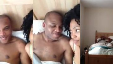 Nnamdi Kanu Reacts To Leaked Video Of Him In Bed With His Wife 1