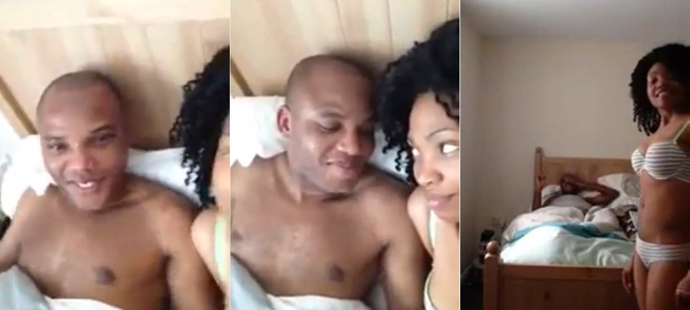 IPOB Reacts To Leaked Video Of Nnamdi Kanu And Wife In Bed, Reveals Those Behind The Footage 1