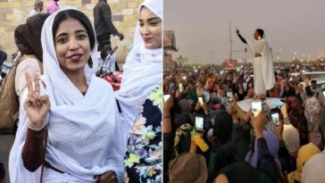22-Year-Old Lady Who Led The Massive Protest That Removed Sudan's President From Office [Photos/Video] 2