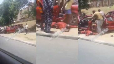 Driver Slumps While Being Manhandled By Policemen And Task Force Officers In Abuja [Video] 8