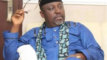 Okorocha's Government And Family Members Caught Allegedly Looting Imo State Properties [Videos] 4