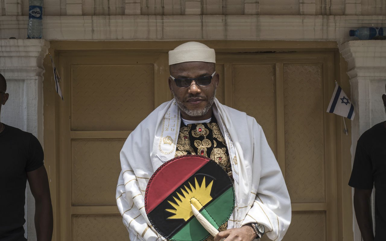 COVID-19 Lockdown: Nnamdi Kanu Distributes 40,000 Bags Of Rice, Others Relief Materals [Video] 1