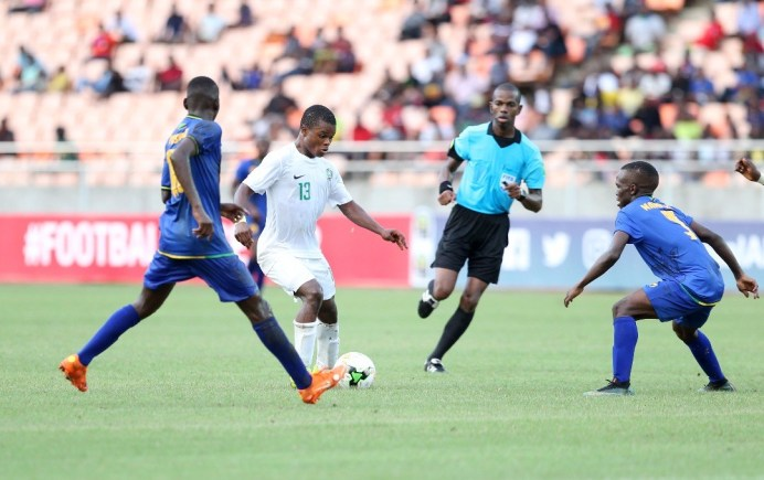 U-17 AFCON: Nigeria's Golden Eaglets Beat Tanzania 4-5 In Opening Game [Watch Highlight] 1