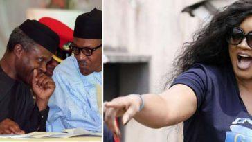 """Nigeria Under You Is Hellish"" – Actress Omotola Slams Buhari, Osinbajo 15"