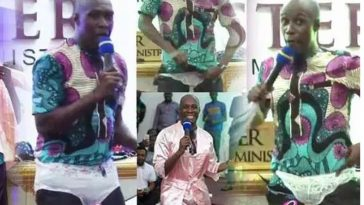 Pastor Wears Panties In Church To Show Women How To 'Hypnotise' Men By Looking Sexy [Video] 1