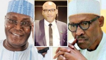 Nnamdi Kanu Reveals How Atiku Can Defeat Buhari In Court To Reclaim His 'Stolen Mandate' 6