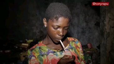 Viral Story Of Lizzy, A Well Educated Drug Addict Who Ended Up As Beggar And Prostitute [Photos/Video] 2
