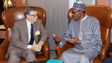 President Buhari Phones Bill Gates, Commends Him For His Consistent Support In Nigeria 1