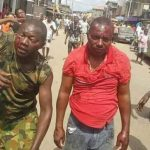 Soldiers Beaten To Pulp In Lagos Over Death Of 'Black Jesus' [Photos] 28