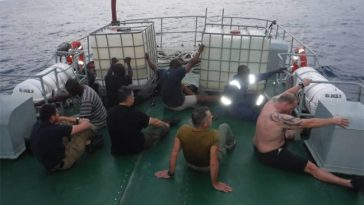 Nigeria Navy Arrests American Sea Pirate Including 3 Greek Citizens & 5 African Accomplices [Photos] 7