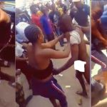 Young Man Striped Naked And Beaten Mercilessly By Ladies For Defecating in Public [Photos] 9