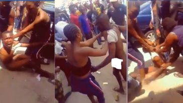 Young Man Striped Naked And Beaten Mercilessly By Ladies For Defecating in Public [Photos] 11