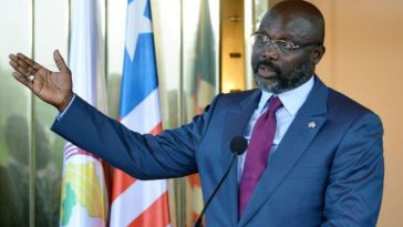Liberian President, George Weah Forced Out Of Office By Two Black Snakes 2