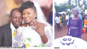 Bride Left Heartbroken As Groom Dies Two Hours After Their Wedding In Plateau State [Photos] 1