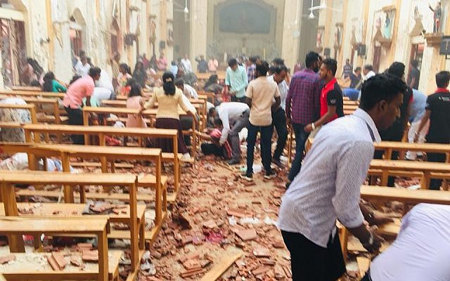 Sri Lanka Easter Sunday Bombings: Death Toll Rises To 290 With Over 500 People injured 1