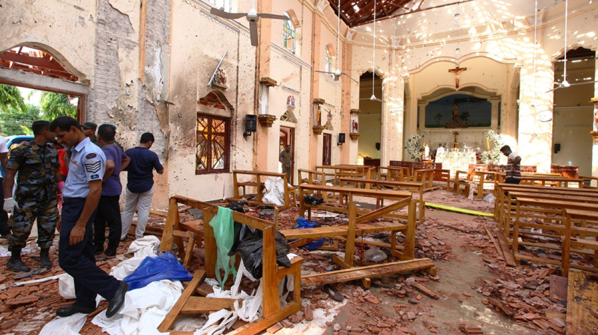 Sri Lanka Easter Sunday Bombings: Death Toll Rises To 290 With Over 500 People injured 2