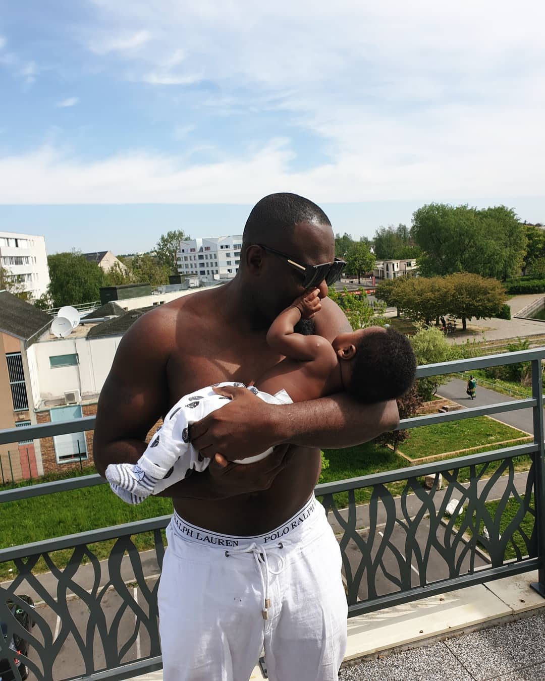 Nollywood Actor Jim Iyke Welcomes Second Son, Shares Photos On Instagram 1