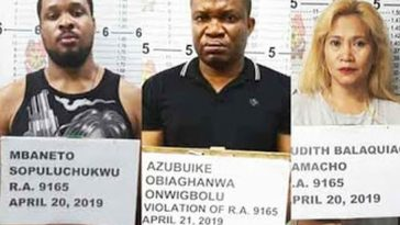 Two Nigerians Could Face Death Penalty After Being Arrested With N125m Worth Of Drugs In Philippines 1