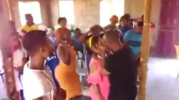 Pastor Kisses Young Woman On The Lips To Get Rid Of Demons Possessing Her [Video] 5