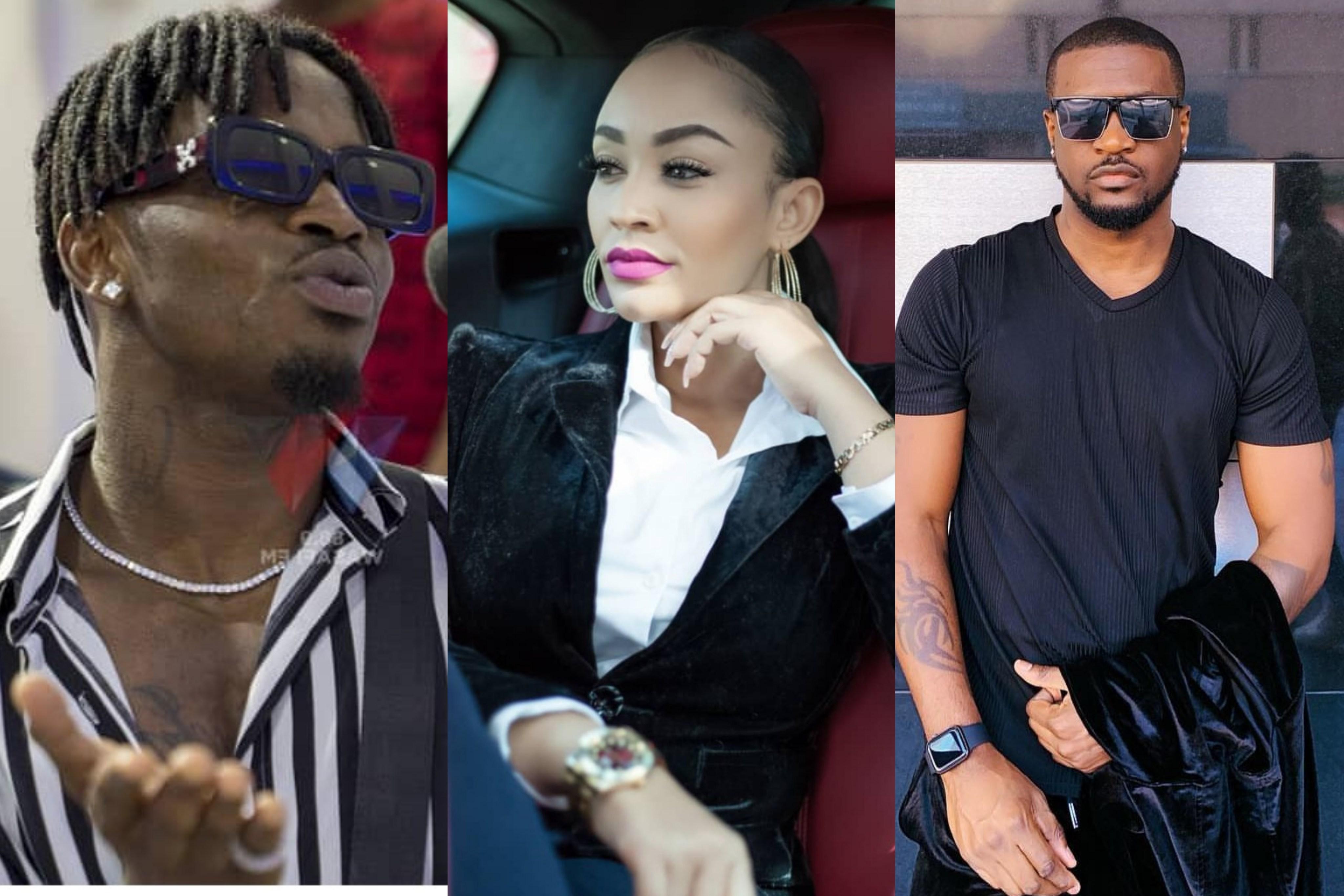 Popular Tanzanian Musician, Diamond Platinumz Accuses Peter Psquare Of Sleeping With His Ex-wife 1