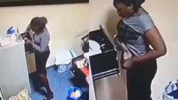 CCTV Footage Exposes Nigerian Undergraduate Who Stole N500K From Her Boss [Photos/Video] 1