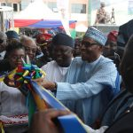"""""""Ambode Has Done Well"""" - Buhari Says As He Unveils Nigeria's Biggest Maternity Hospital In Lagos 28"""