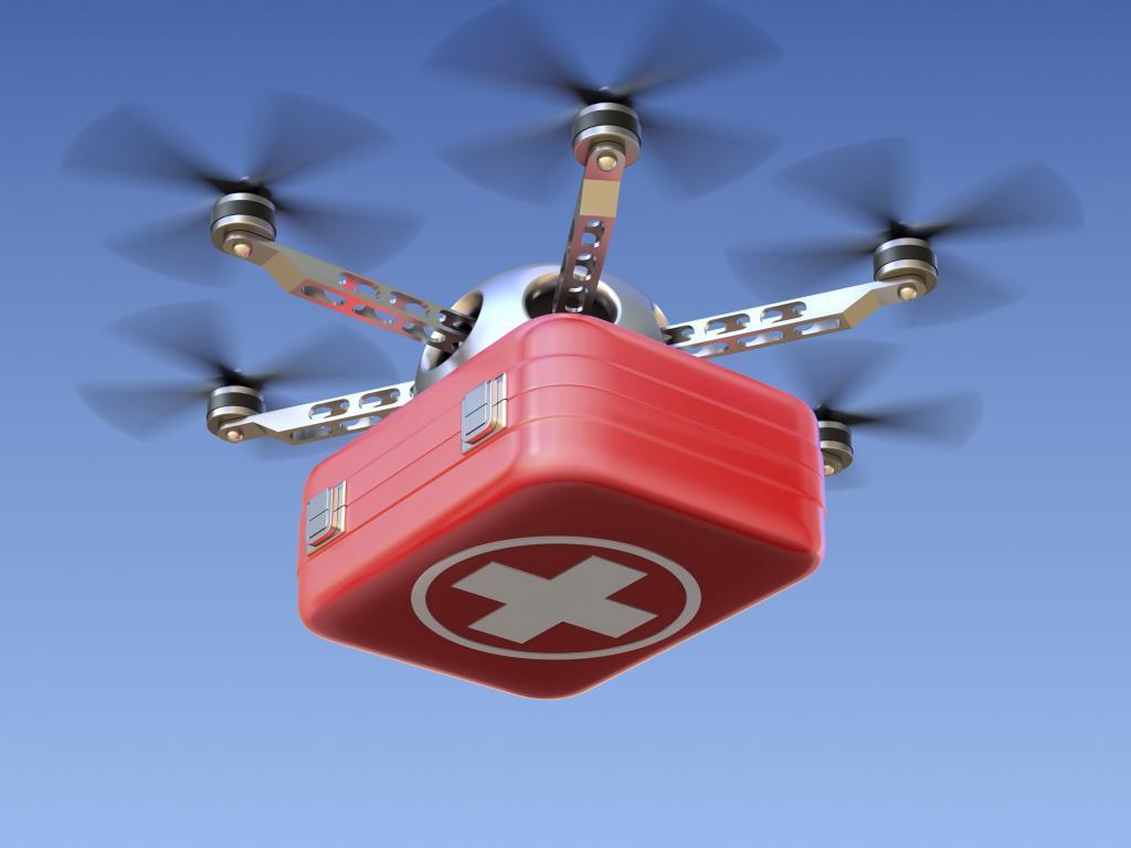 Drones To Begin Delivering Vaccines, Blood, Drugs Across Ghana 1