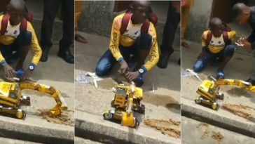 Nigerian Boy Creates Caterpillar Controlled By Water & Syringe In Akwa Ibom [Photos/Video] 4