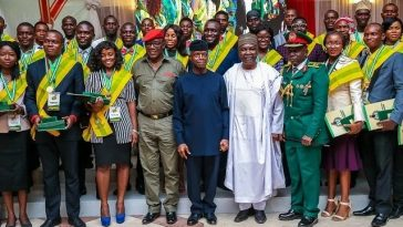 President Buhari Offers Employment, Scholarships To 168 Former Corps Members 2