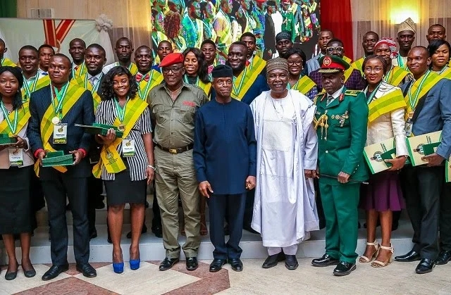 President Buhari Offers Employment, Scholarships To 168 Former Corps Members 1