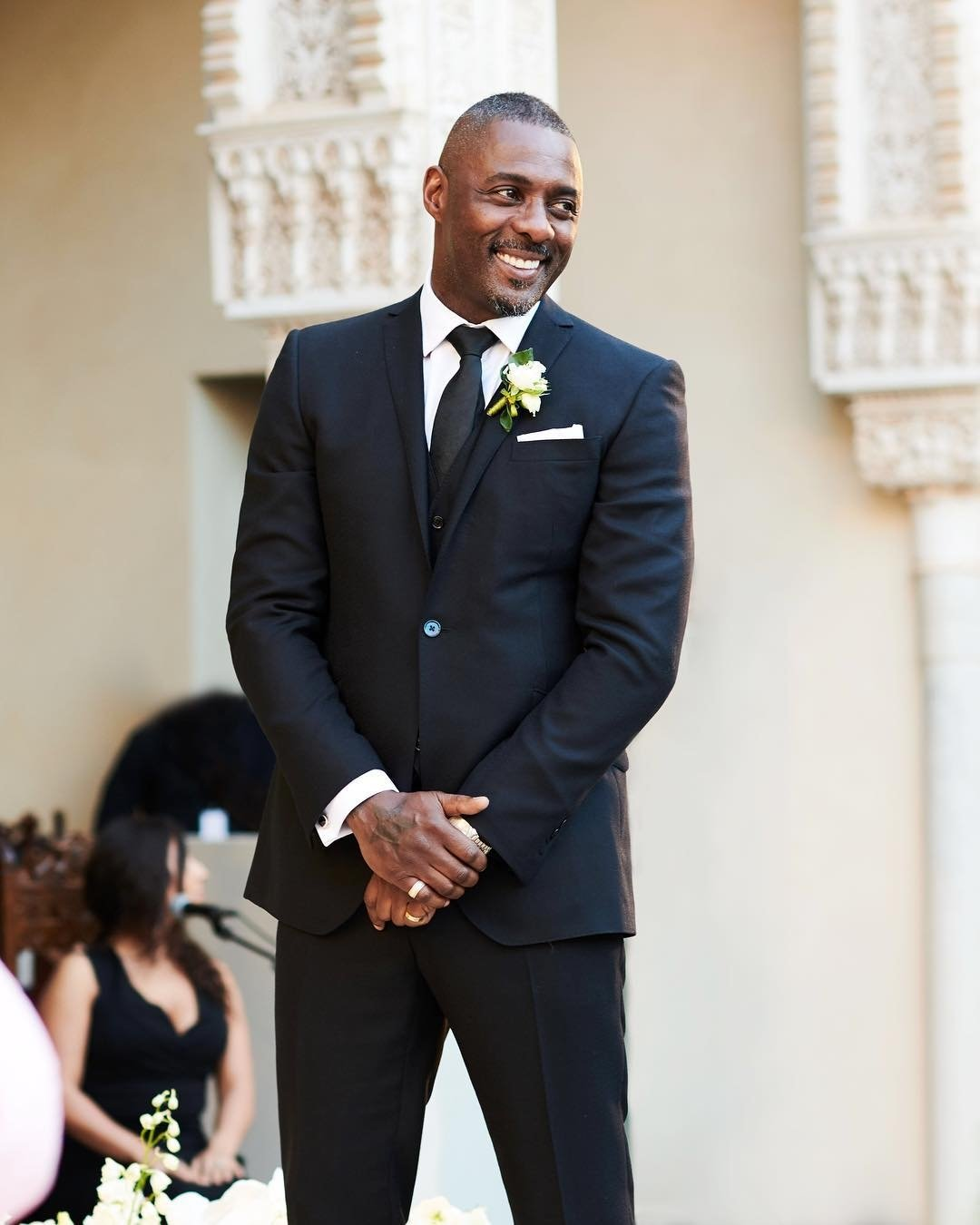 Idris Elba and Sabrina Dhowre tie the knot in Morocco. [PHOTOS] 2
