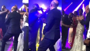 Watch Davido Dancing With Christian Louboutin At Idris Elba's Wedding [Photos/Video] 1