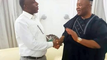 Amaechi And Akpabio Reconciles In Abuja After Several Years Of Political Conflict 2