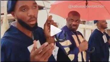 FUNNY VIDEO: Don Jazzy Joins 'Kabusaoriential Choir' For A Song Dedicated To Rihanna 10