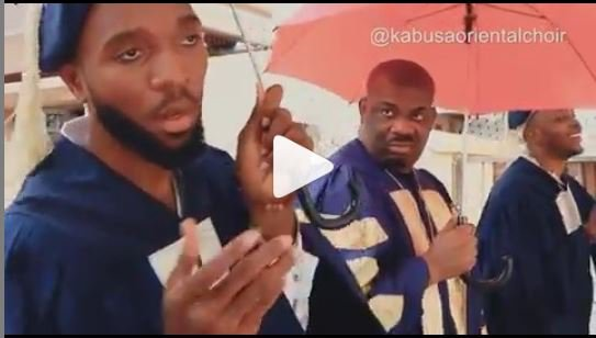 FUNNY VIDEO: Don Jazzy Joins 'Kabusaoriential Choir' For A Song Dedicated To Rihanna 1