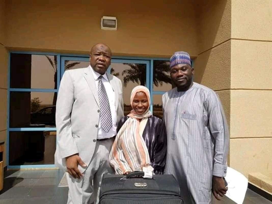 Zainab Aliyu released from Saudi Arabian Prison - BREAKING NEWS 1