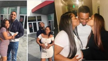 Man Impregnates Twin Sisters, Flaunts Them Online With Their Growing Baby Bumps [Photos] 2