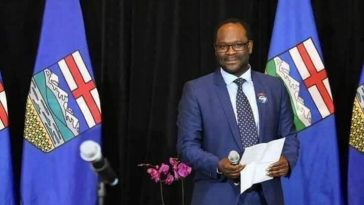 Nigerian Lawyer Kelechi Madu appointed Minister of Municipal Affairs in Alberta Canada. 1